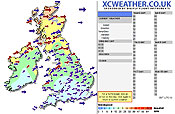 XC Weather website Click to Enlarge